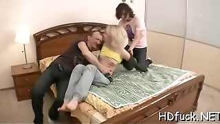 Lustful non-professional babe gets teased and gets willing for sex