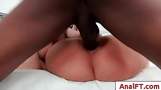 Interracial hardcore anal fuck threesome with Phoenix Marie and Cherry Torn